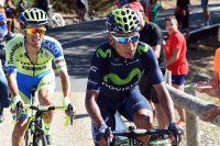 Rafal Majka et Nairo Quintana à l'attaque