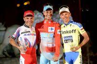 Le podium de la Vuelta 2015
