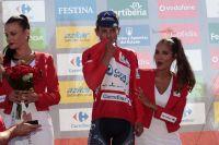 Esteban Chaves en rouge