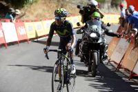 Nairo Quintana souffre de la chaleur