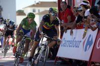Alejandro Valverde prend le dessus sur Peter Sagan