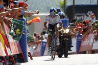 Esteban Chaves file vers un second succès d'étape
