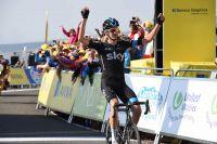 Poels s'impose, Contador grignote