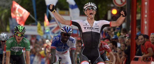Jasper Stuyven s'impose sur la Vuelta