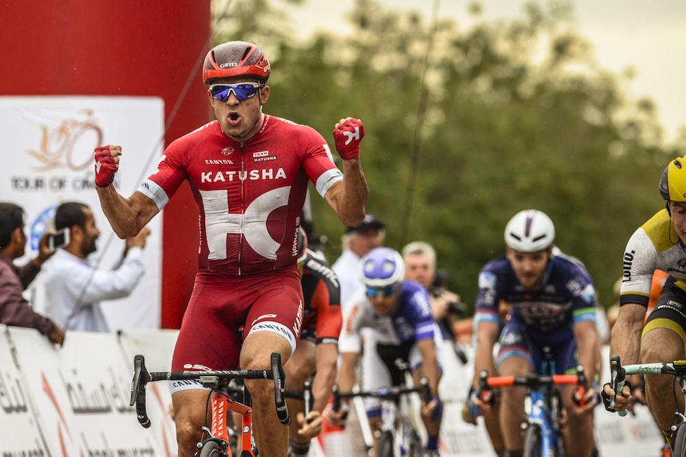 Au Tour d'Oman, Alexander Kristoff remporte sa quatrième victoire de l'année