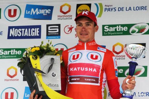 Anton Vorobyev multiplie les victoires sur la Sarthe