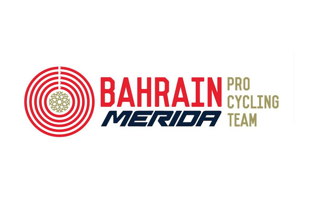Le logo de l'équipe Bahrain-Merida
