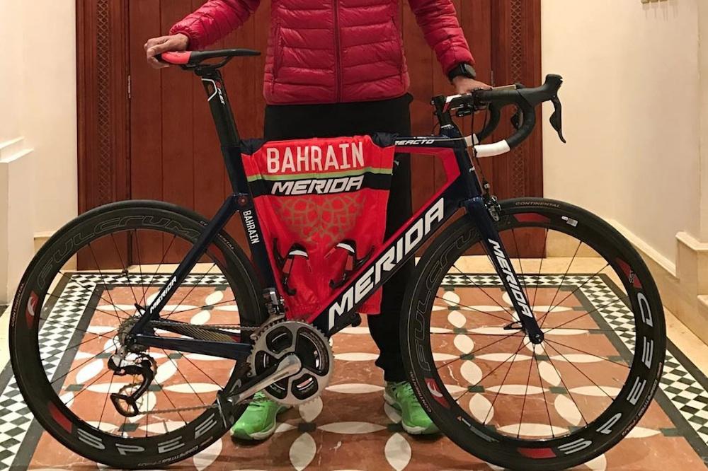 Un aperçu du maillot de Bahrain-Merida