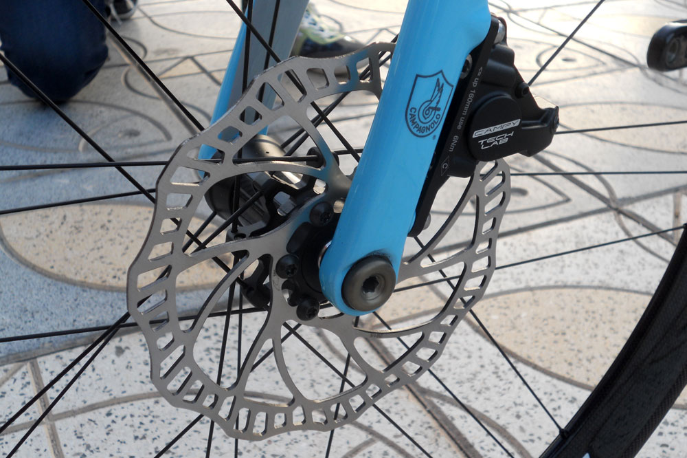 Campagnolo lance son système de freinage à disque