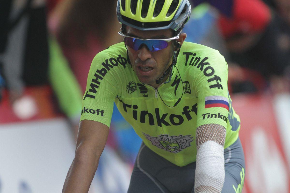 Contador perd du temps sur les routes de la Vuelta