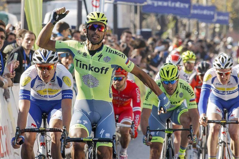 Daniele Bennati vainqueur au sprint à Séville