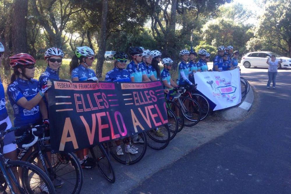 Donnons des Elle au Tour pour la promotion du cyclisme féminin