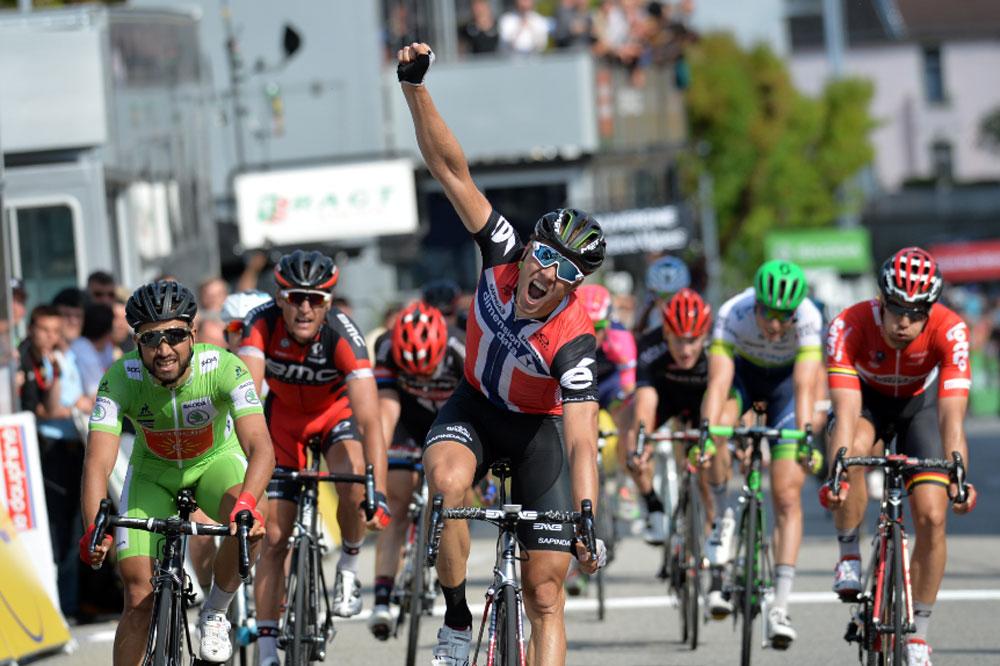 Edvald Boasson-Hagen vainqueur
