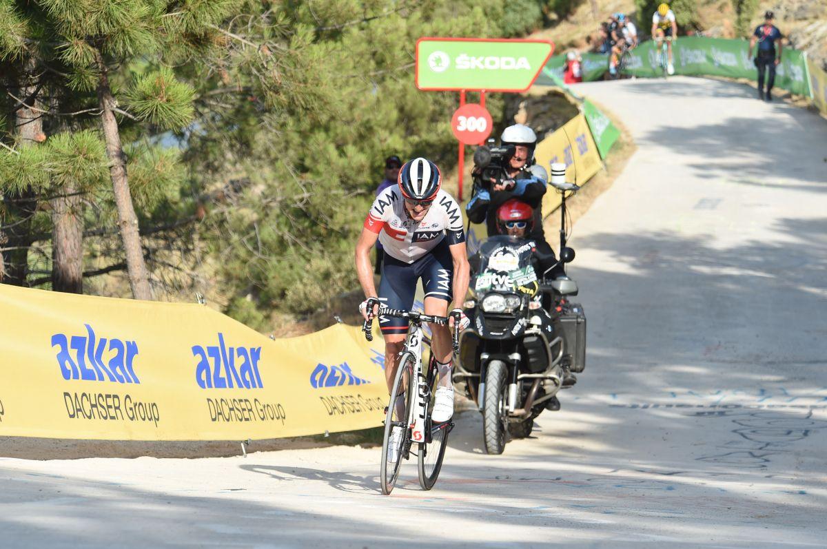 Frank, vainqueur d'étape sur la Vuelta