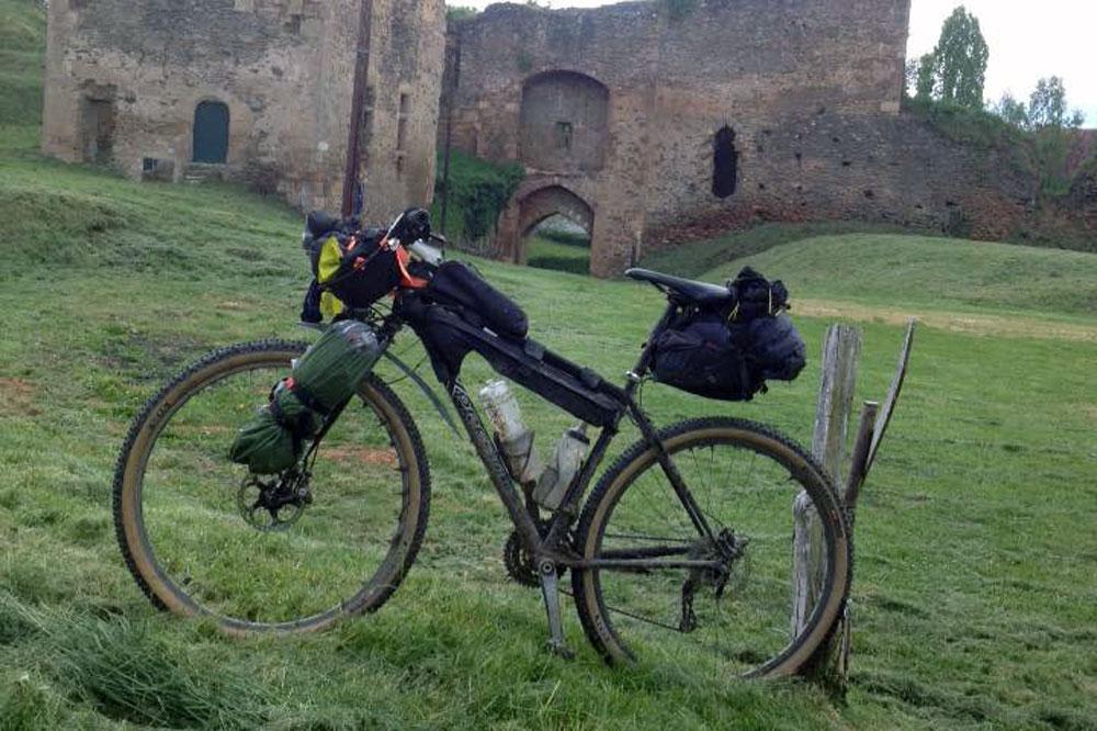 La French Divide en bikepacking