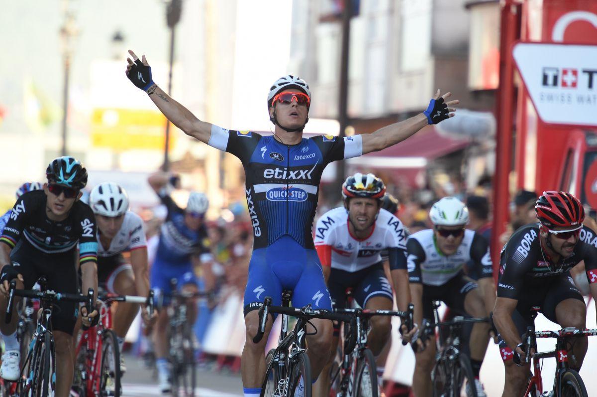 Gianni Meersman remporte la 2ème étape de la Vuelta