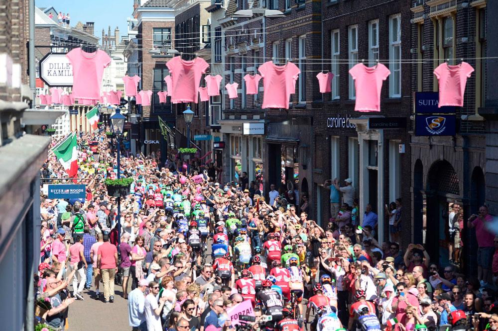 Les Pays-Bas font la fête au Giro
