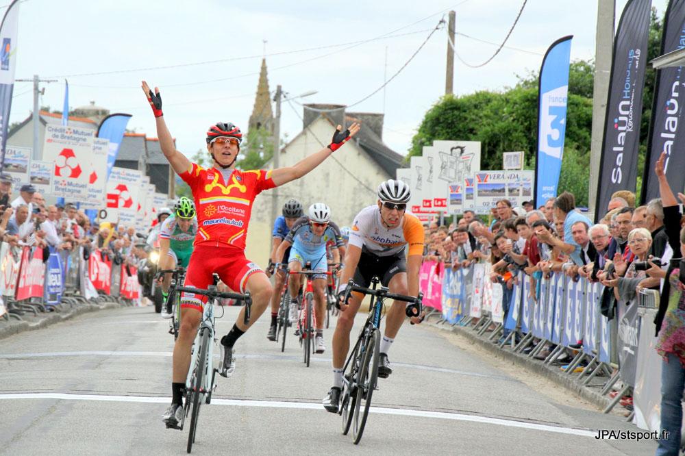 Guillaume Gaboriaud gagne à Plouray