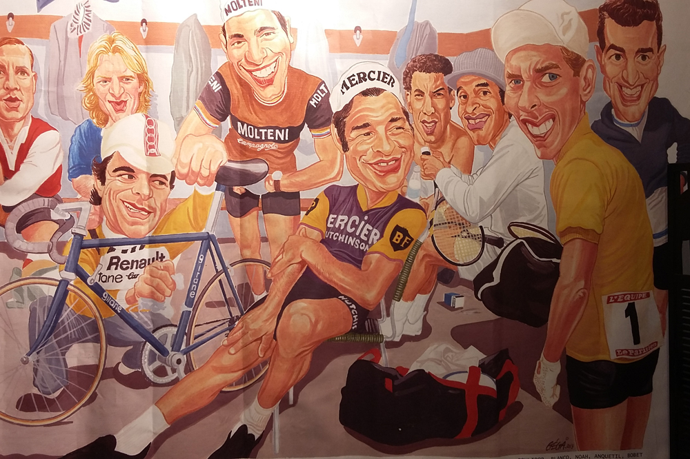 Hinault, Merckx, Poulidor, Anquetil et les autres