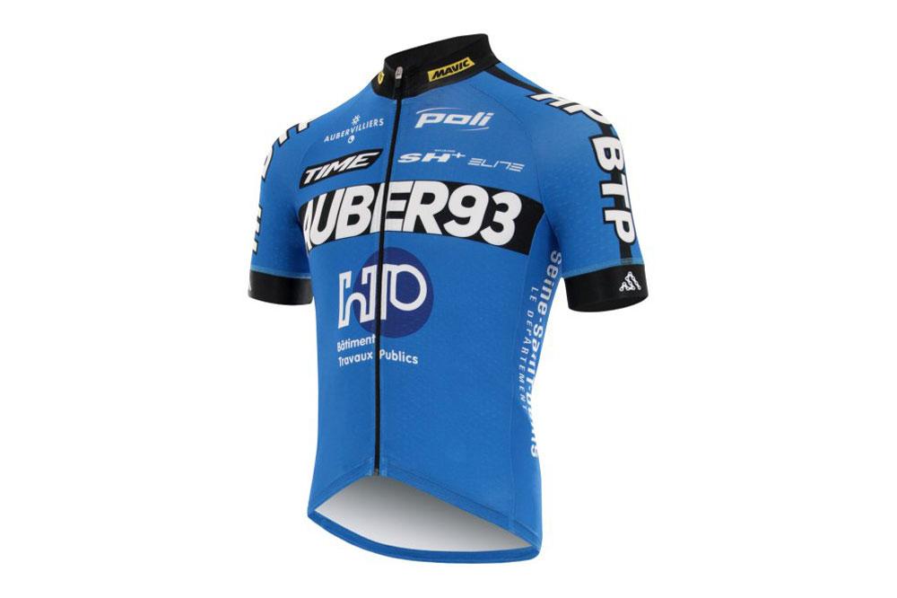 Le maillot Poli de HP BTP-Auber 93