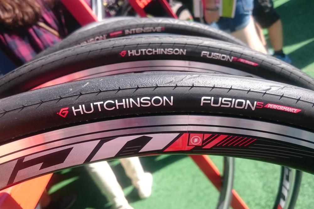 Le pneu Hutchinson Fusion 5 Performance
