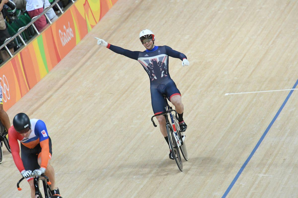 Jason Kenny champion olympique du keirin