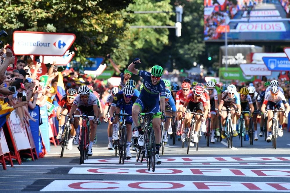 Tour d'Espagne: Jens Keukeleire au sprint, Quintana toujours en rouge