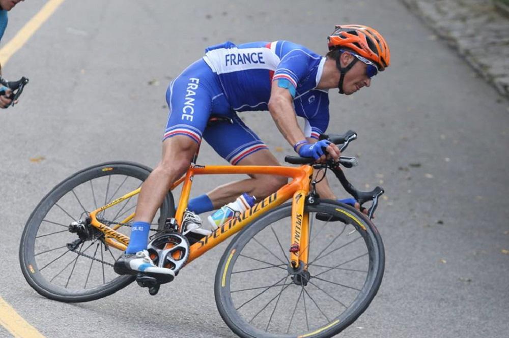 Julian Alaphilippe dans la descente du circuit de Rio