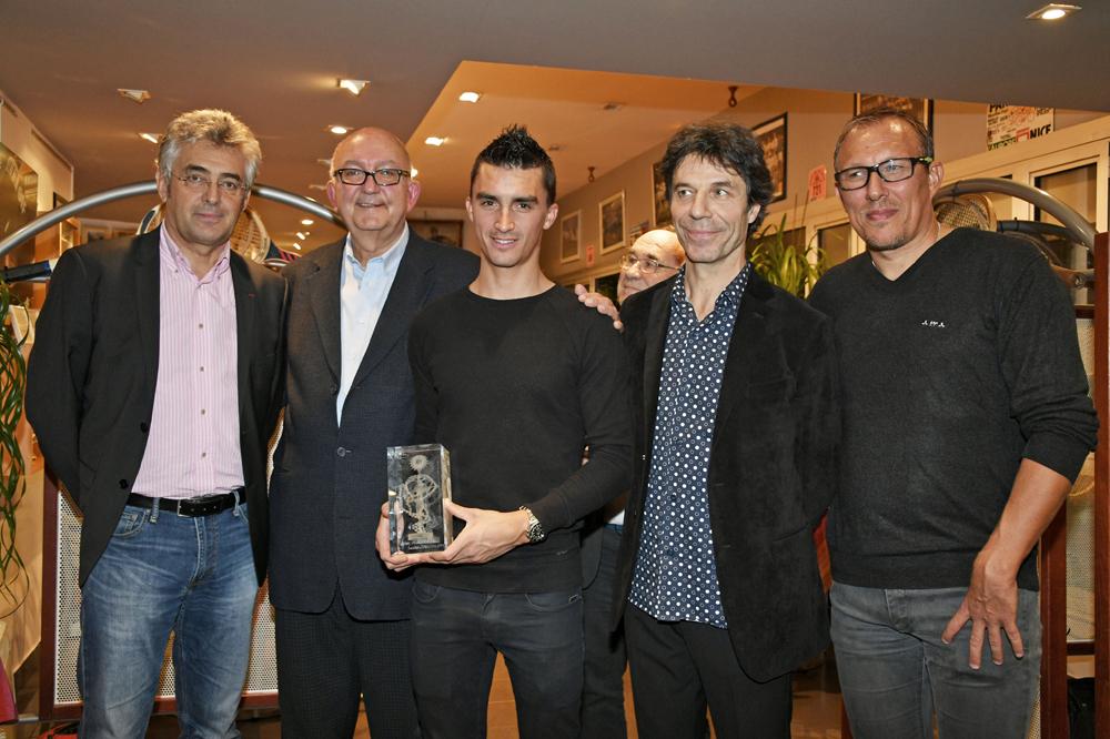 Julian Alaphilippe récompensé