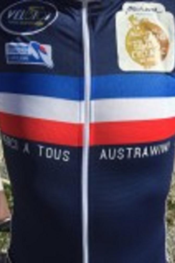 La tenue de William Turnes pour les championnats du monde