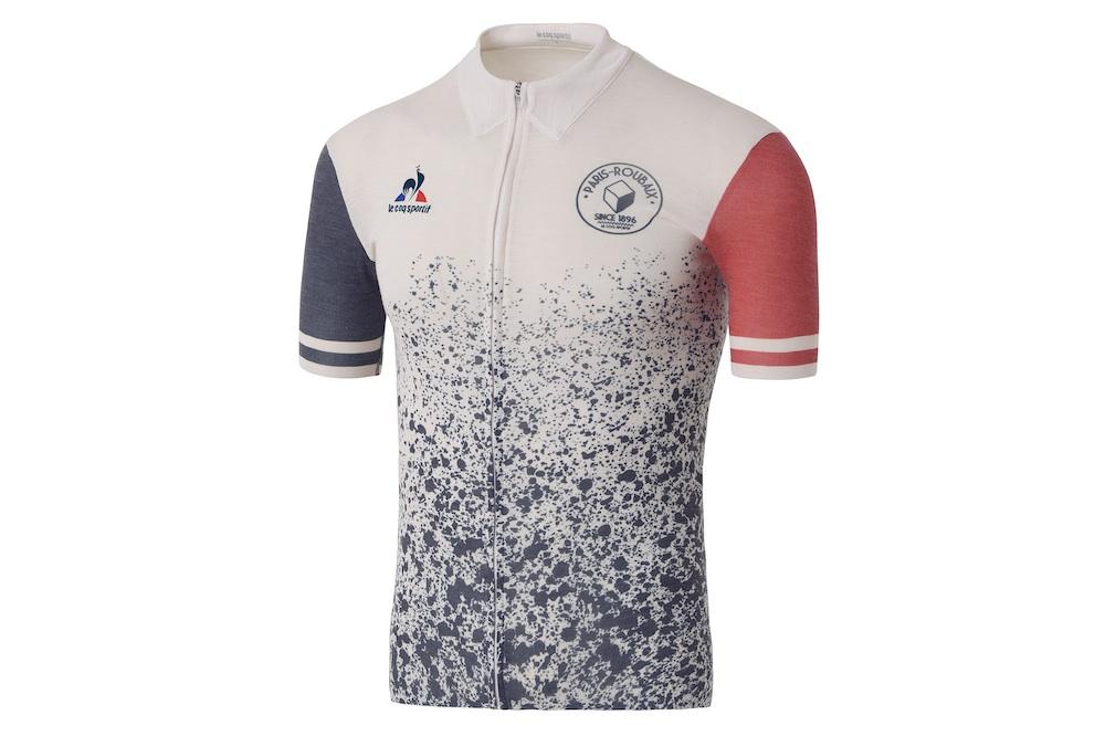 Un maillot Le Coq Sportif hommage à Paris-Roubaix