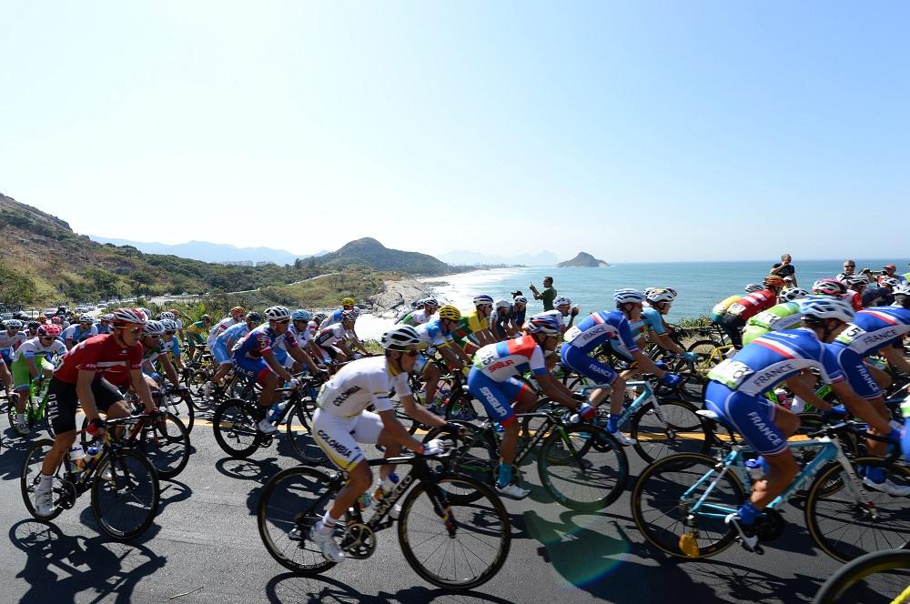 Le peloton aux Jeux de Rio