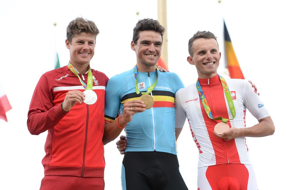 Le podium des jeux olympiques de Rio