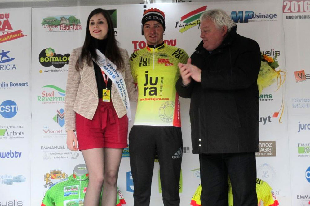 Léo Vincent gagne le Tour du Jura