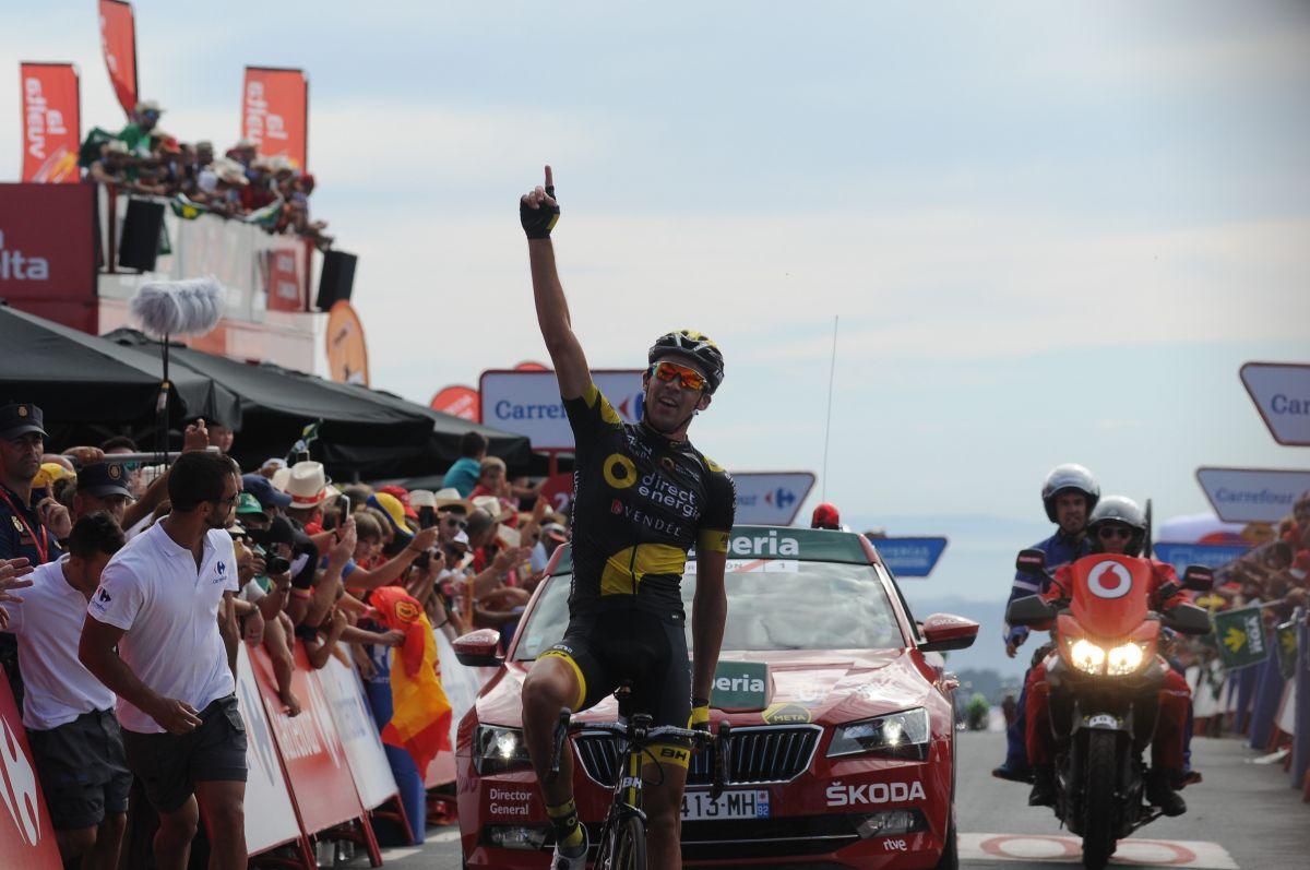 Lilian Calmejane remporte la 4ème étape de la Vuelta