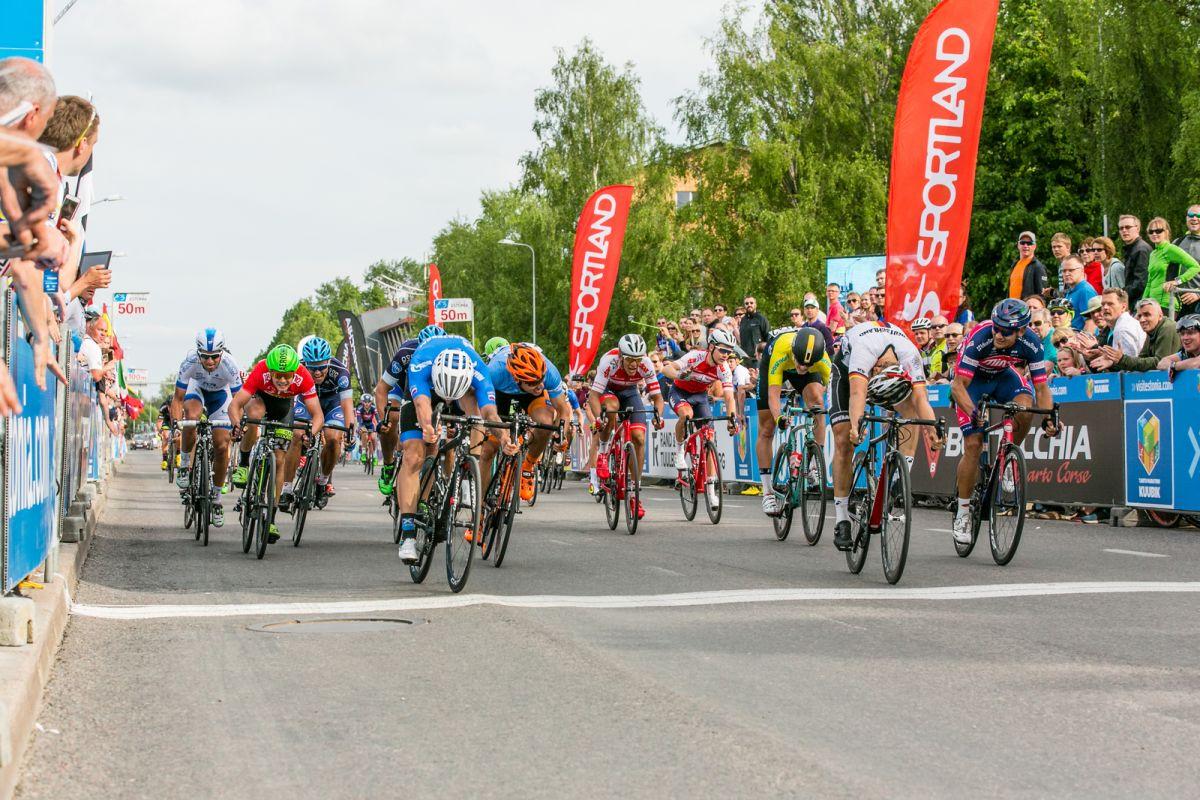 Maikin vainqueur sur le Tour d'Estonie