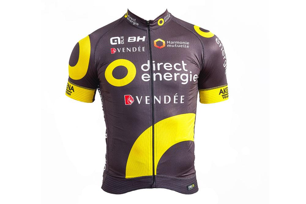 Le maillot Alé de Direct Energie