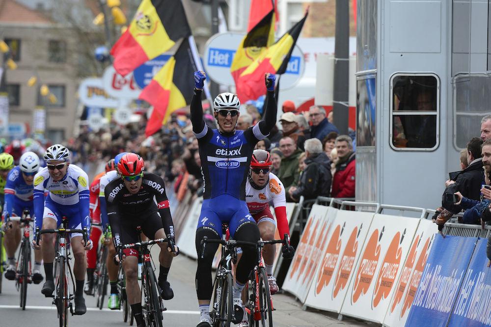Victoire de Marcel Kittel à La Panne