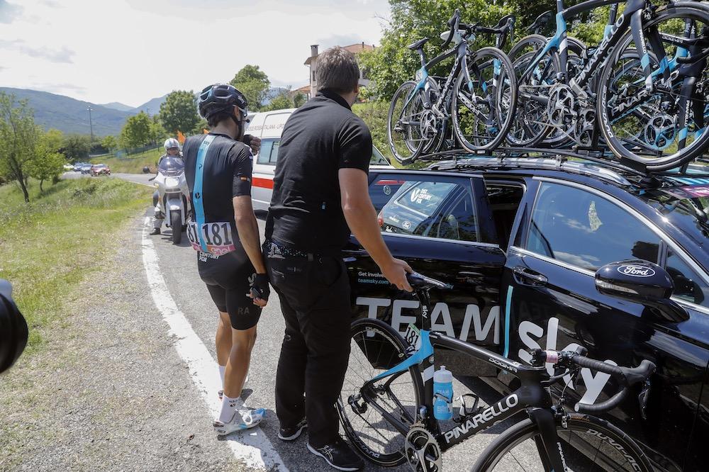 Mikel Landa abandonne le Tour d'Italie