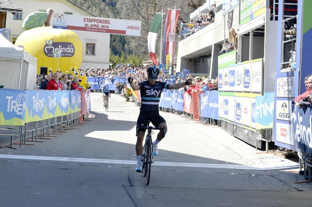 Landa prend la première étape et le maillot — Tour de Burgos