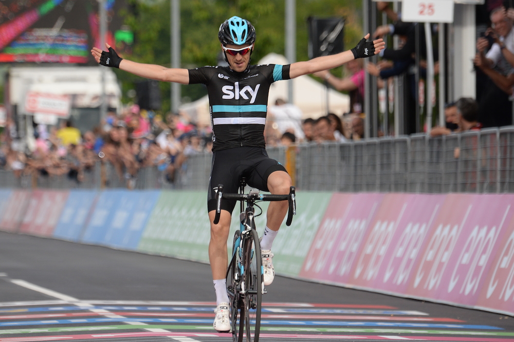 Mikel Nieve sauve le Giro du Team Sky