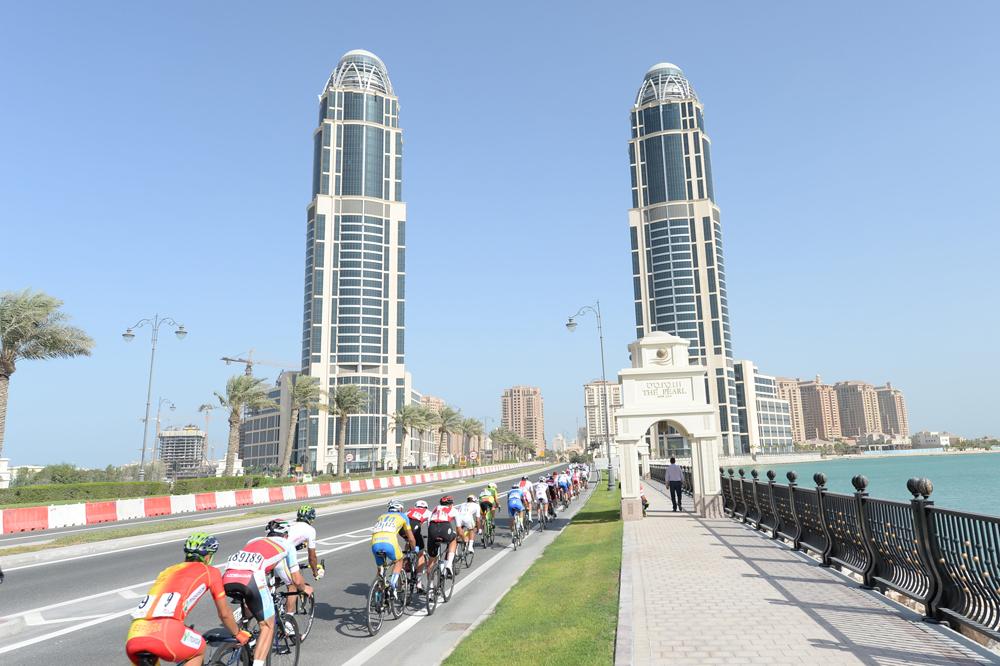 Le public absent sur les routes de Doha