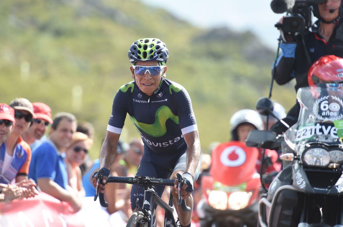 Nairo Quintana repasse leader du Tour d'Espagne