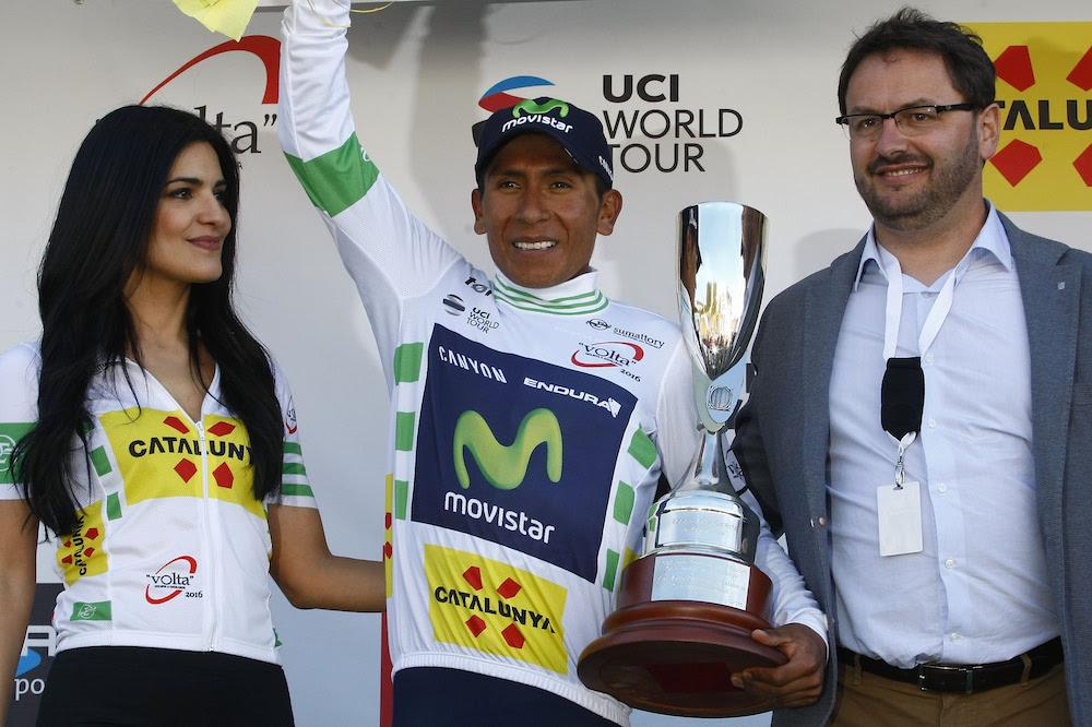 Nairo Quintana, leader du Tour de Catalogne