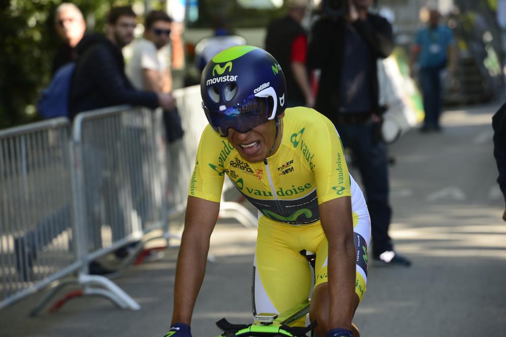 Nairo Quintana conforte son avance au Tour de Romandie