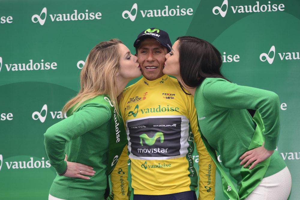 Nairo Quintana nouveau leader du Tour de Romandie