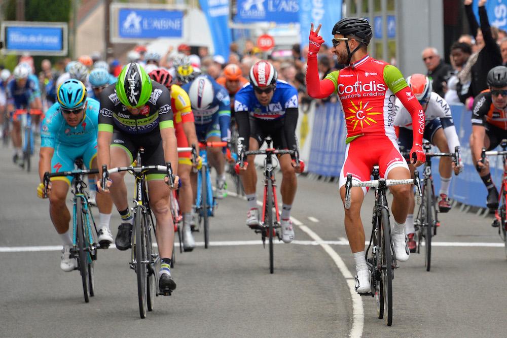 Deuxième victoire pour Nacer Bouhanni en Picardie