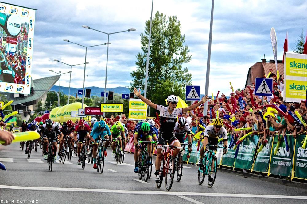 Niccolo Bonifazio conjure le sort au Tour de Pologne