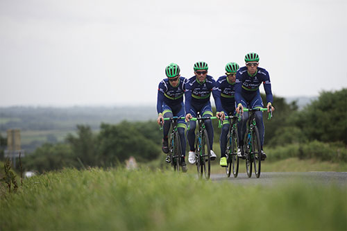 L'équipe Orica-BikeExchange