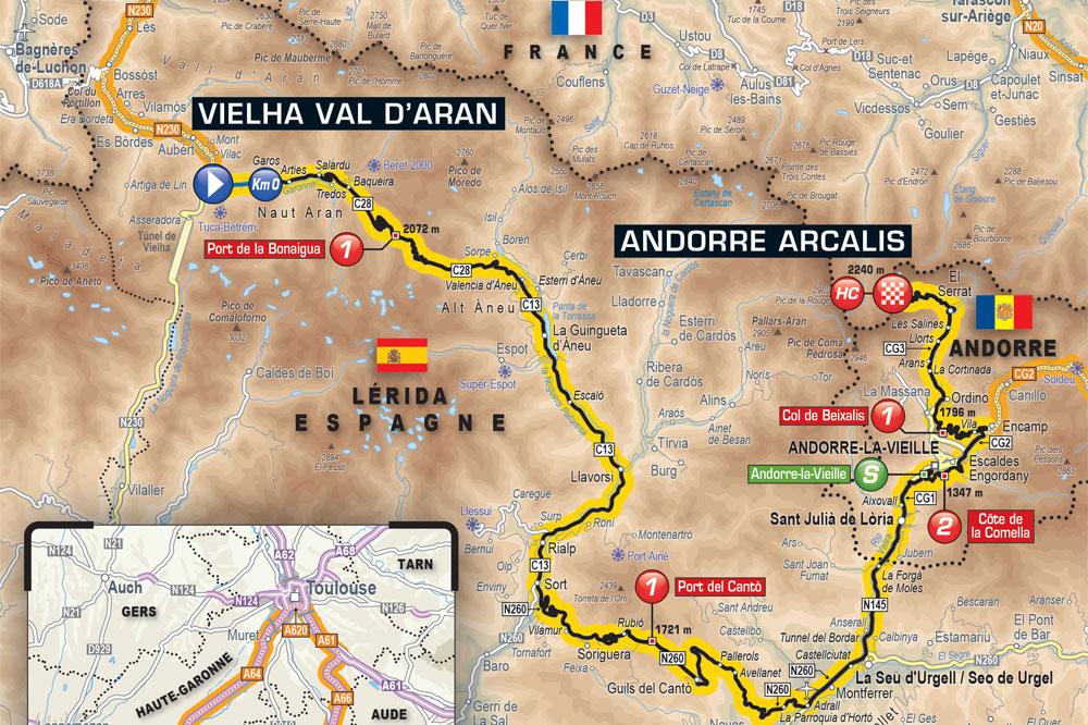 Tom Dumoulin s'impose sous la pluie en Andorre